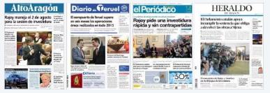 ARAGÓN #Noticias de hoy en portada